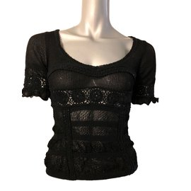 Just Cavalli-Tops-Black