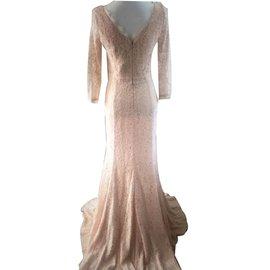Diane Von Furstenberg-Robes-Beige
