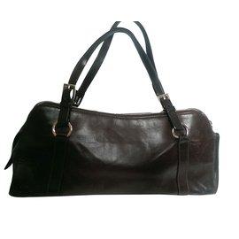 Christian Dior-Handbags-Brown