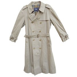 Burberry-Trench coats-Beige
