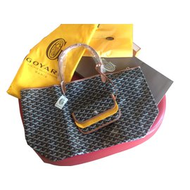 Goyard-St. Louis GM tote-Black