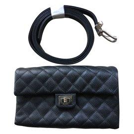 Chanel-Chanel uniform Belt-Black