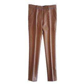 Balenciaga-Pantalons-Cuivre
