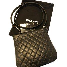 c424a74df02d Chanel-Chanel pochette uniforme-Noir ...