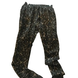 Lanvin-Pantalons-Noir