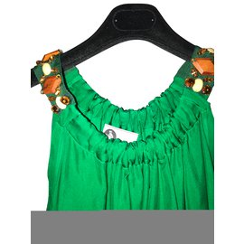 Lanvin-Robes-Vert