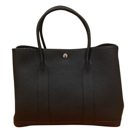 Hermès-Hermès Gartenparty 36-Schwarz