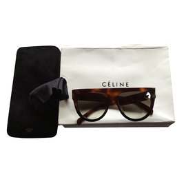 Céline-Sunglasses-Brown
