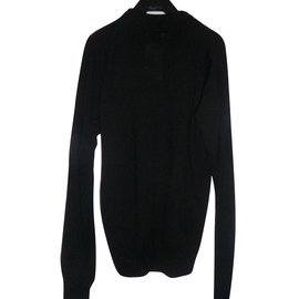 Versace-Sweaters-Black