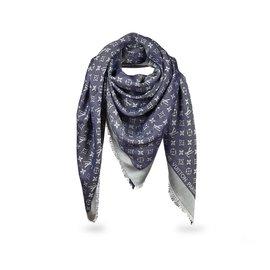 beaucoup de styles produits de qualité mignon pas cher Foulards denim bleu