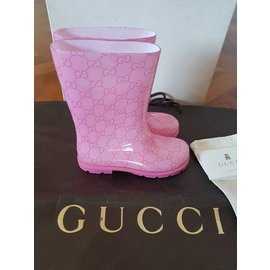 Gucci-Bottes, bottines-Rose