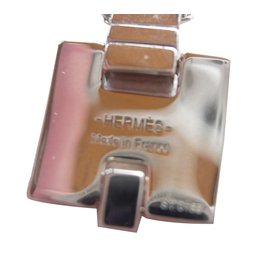 Hermès-Pendant necklaces-Silvery