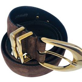 35ddf879ca86 Autre Marque-Richard Gampel ceinture-Marron ...