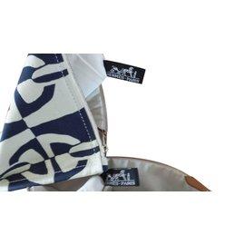 Hermès-Pochettes Chaine d'ancre-Bleu Marine