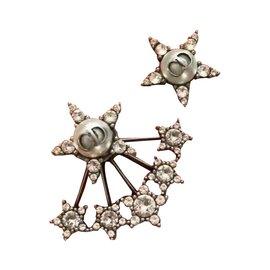 Dior-Boucles d'oreilles asymétriques L'Atelier du Cosmos édition limité-Blanc