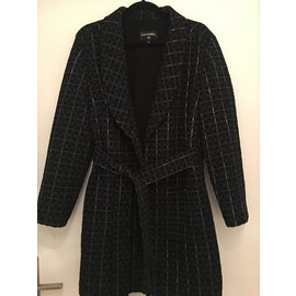Chanel-Coats, Outerwear-Blue