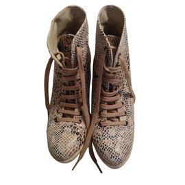 Stella Mc Cartney-Ankle Boots-Beige