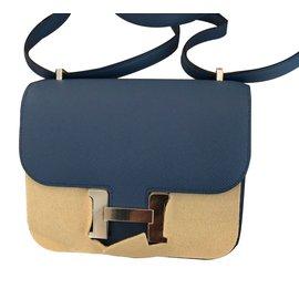 Hermès-Constance Mini-Bleu