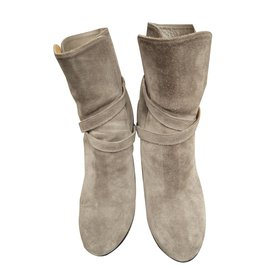 Lanvin-Bottines-Taupe