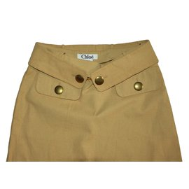 Chloé-Skirts-Brown