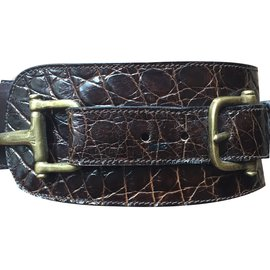 Céline-Belts-Dark brown