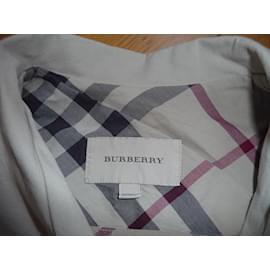 Burberry-Veste saharienne-Beige