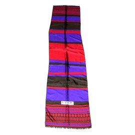 Lanvin-Foulards-Multicolore