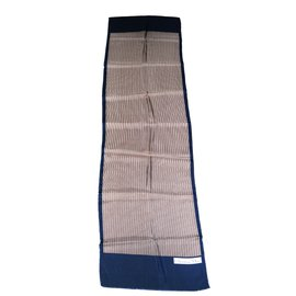 Christian Dior-Foulards-Marron,Bleu Marine ... 3a15711864c