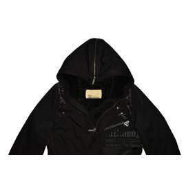 John Galliano-One piece Jacket-Black
