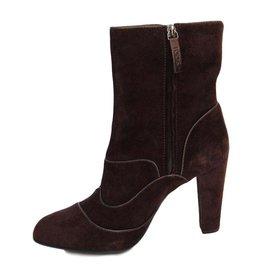 Bottines & low boots à talons TOD'S daim marron 39,5