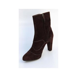 Tod's-Ankle Boots-Brown
