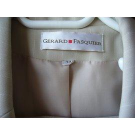 Autre Marque-Tailleur pantalon Gérard Pasquier-Vert