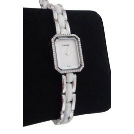 Chanel-MONTRE PREMIERE CERAMIQUE-Blanc