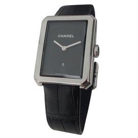 Chanel-MONTRE BOY-FRIEND CHANEL-Noir