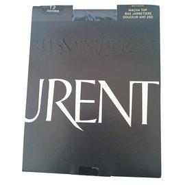 Yves Saint Laurent-Lingerie-Noir