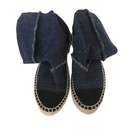Chanel-Espadrilles-Blue
