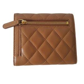 Chanel-Wallets-Caramel
