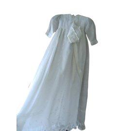 Autre Marque-Robes fille-Blanc