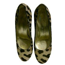 Giuseppe Zanotti-Heels-Leopard print