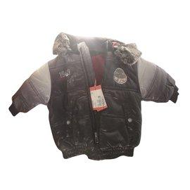 Marèse-Boy Coats Outerwear-Black