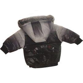 Marèse-Blouson Marèse, noir et gris, neuf avec ses étiquettes.-Noir