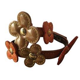 Louis Vuitton-Bracelet modèle fleurs-Orange