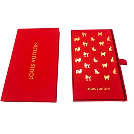 Louis Vuitton-Red envelopes-Red