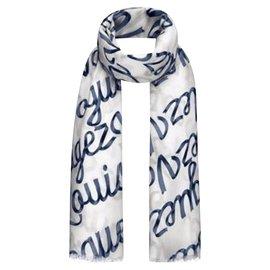 Louis Vuitton-stola vuitton-Blanc