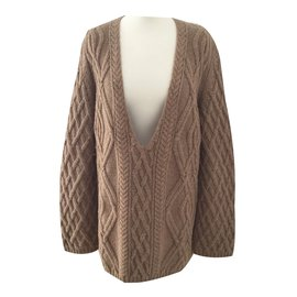 Chloé-Knitwear-Brown