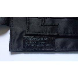 Yves Saint Laurent-Ceintures-Noir