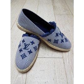 Louis Vuitton-Espadrilles-Bleu