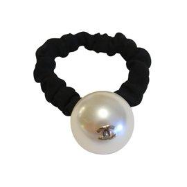 Chanel-Bijoux de tête-Blanc