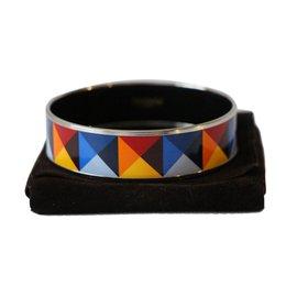 Hermès-émail large-Multicolore