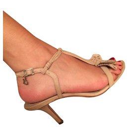 Dior-Sandales-Beige